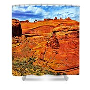 Arches Canyon Shower Curtain