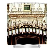 Architectural Detail New Orleans Shower Curtain