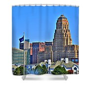 Architectural Eye Candy Shower Curtain