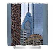 Architectural Miscellany Shower Curtain