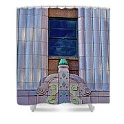 Architectural Study San Antonio Texas Shower Curtain
