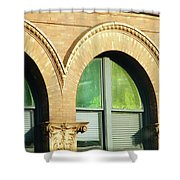 Architecture Memphis Shower Curtain
