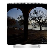 Archs And Trees Shower Curtain