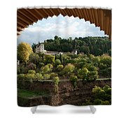 Archway Frame Shower Curtain