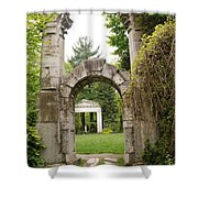 Archway Path Shower Curtain