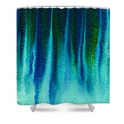 Arctic Spires Of Ice Shower Curtain