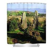 Ardgroom, Co Cork, Ireland Stone Circle Shower Curtain