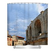 Arena In Arle Provence France Shower Curtain