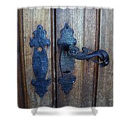 Argentinian Door Decor 1 Shower Curtain