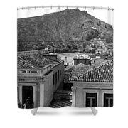 Argos Greece - C 1907 Shower Curtain