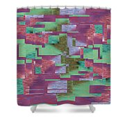 Argyle Seam 4 Shower Curtain