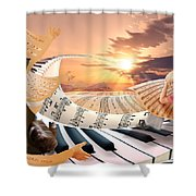Arise Arise Shower Curtain