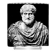 Aristotle, Ancient Greek Philosopher Shower Curtain
