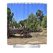 Arizona Wagon Shower Curtain