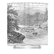 Arkansas: Ouachita River Shower Curtain by Granger