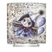Arlequin Shower Curtain by Mo T