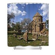 Armenian Church On Adkamar Island Shower Curtain