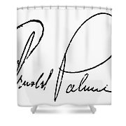 Arnold Palmer (1929-  ) Shower Curtain