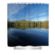 Arrow At Summit Lake Shower Curtain