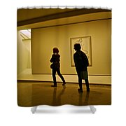 Art Appreciators Shower Curtain