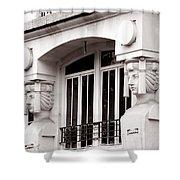 Art Deco 17 Shower Curtain