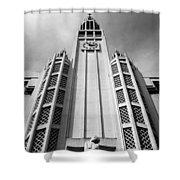 Art Deco Church Shower Curtain