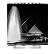 Art Fountain Shower Curtain