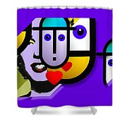 Art Lover Shower Curtain