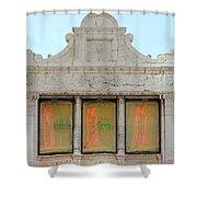 Art Nouveau Sex Shop Shower Curtain
