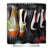 Art Shoes Shower Curtain