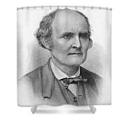 Arthur Cayley, English Mathematician Shower Curtain