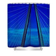 Arthur Ravenel Jr Bridge IIi Shower Curtain