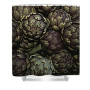 Artichokes At A Market In Provence Shower Curtain