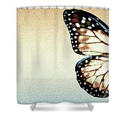 Artistic Butterfly Shower Curtain