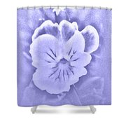Artistic Pansy Shower Curtain