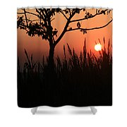 As It Sets Shower Curtain