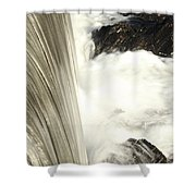 As The Water Falls Shower Curtain