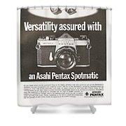 Asahi Pentax Spotmatic Shower Curtain
