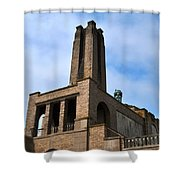Asbury Sky Shower Curtain