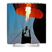 Ascension Flames Shower Curtain