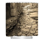 Ascent In Beynac France Shower Curtain