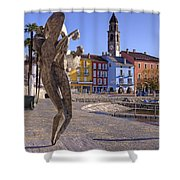 Ascona - Switzerland Shower Curtain