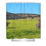Ash Creek Valley II Shower Curtain