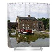 Ashby Canal At Moira Furnace Shower Curtain