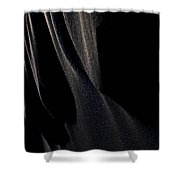 Ashes With Night  Shower Curtain
