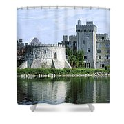 Ashford Castle, Lough Corrib, Co Mayo Shower Curtain