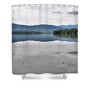 Ashokan Reservoir Shower Curtain