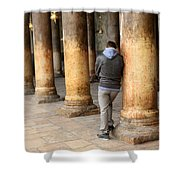 Asking For Forgiveness Shower Curtain