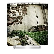 Asking Price Shower Curtain