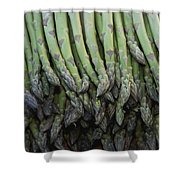 Asparagus At A Market In Provence Shower Curtain
